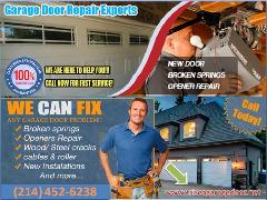 Garage Door Repair ($25.95) Frisco Dallas, TX
