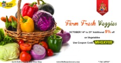 Dussehra Special Offers Farm Fresh Vegetables Online Little Elm,Texas - MyHomeGrocers