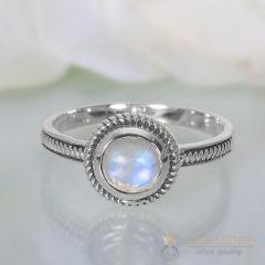 Moonstone Ring-Vibrant Bond