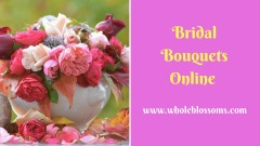 Buy Spectacular Orchids and Rose Bridal Bouquets from Whole Blossoms