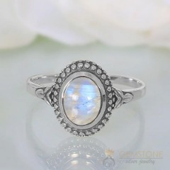 Moonstone Ring-Humble Siren