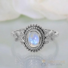 Moonstone Ring-Pristine Blessing