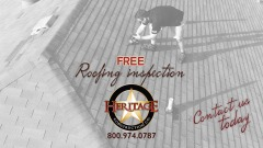 Free Roof Inspection - Heritage Construction Co. - Austin, Texas