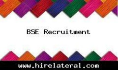 JOB OPENINGS FOR BSE