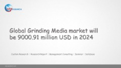 Global Grinding Media market will be 9000.91 million USD in 2024
