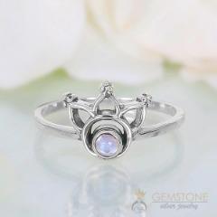 Moonstone Ring-Sleeping Beauty