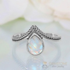 Moonstone Ring-Leah's Obsession