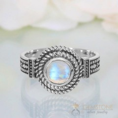 Moonstone Ring-Neat Enticement