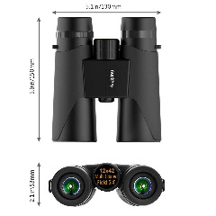 44% OFF Aiqiying 12X42 Binoculars for Adults Kids with Smartphone Adapter