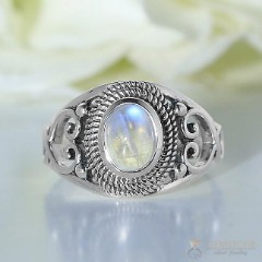 Moonstone Ring-Glitzy Allegra