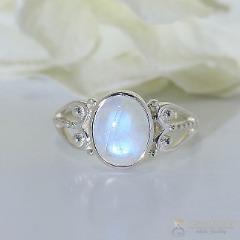 Moonstone Ring-Shimmering Yonder