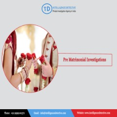 Expert Investigator for Pre Matrimonial Investigation in Delhi