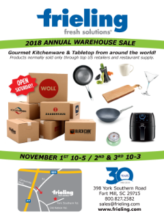 2018 Annual Warehouse Sale - Frieling USA