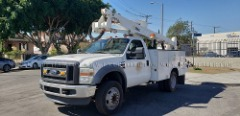 2008 FORD F550 ALTEC AT37-G BUCKET TRUCK