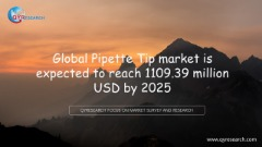 Global Pipette Tip market is expected to reach 1109.39 million USD by 2025