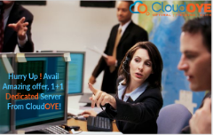 Hurry Up! Avail Amazing offer, 1+1 Dedicated Server From CloudOYE!