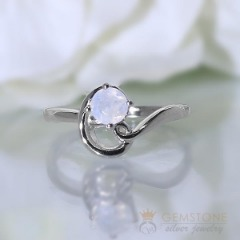 Moonstone Ring-Vogue