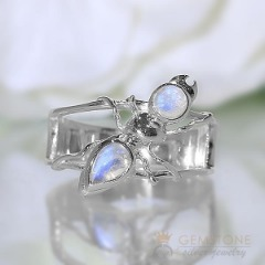 Moonstone Ring-Dual Euphoria