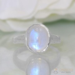 Moonstone Ring-Orb Of Night