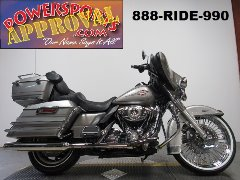 Used Harley Bagger for sale with 21 inch Fat Spoke chrome front wheel! U4111