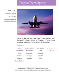 Vergara Travel Agency