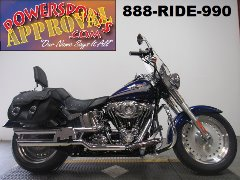 Used Harley Fat Boy for sale with only 5,743 miles! U4094