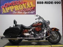 Used Harley Road King for sale with Harley Davidson factory Exotic paint set. U3949