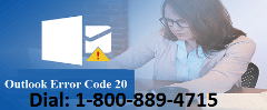 Easy Way to Fix Outlook Error Code 20? 1-800-889-4715 For Help