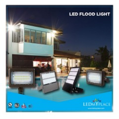 LED Flood Light - Ideal For Accent And Security Lighting