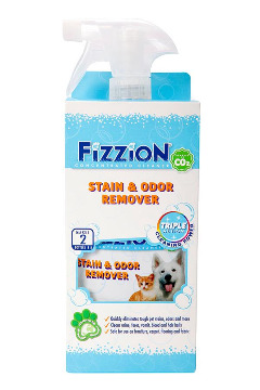 Fizzion Pet Stain & Odor Remover –23oz bottle with Bonus Refill