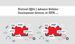 Festival Offer | Advance Website Development Services At 50%…