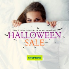 Bedding Stock Celebrates Halloween with $200 off on Their Mattress