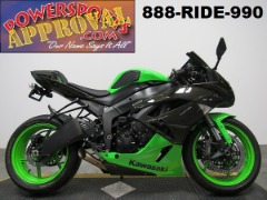Used Kawasaki ZX6R  for sale in Michigan U4295