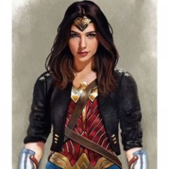 Wonder Woman Comic Leather Jacket
