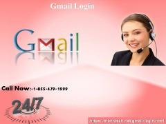 Call the finest team at 1-855-479-1999 and solve your Gmail login hindrances