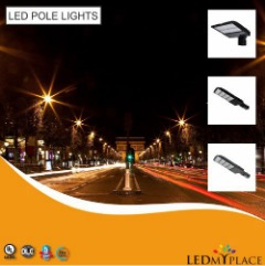 LED Pole Lights For Outdoor Lighting - On Sale