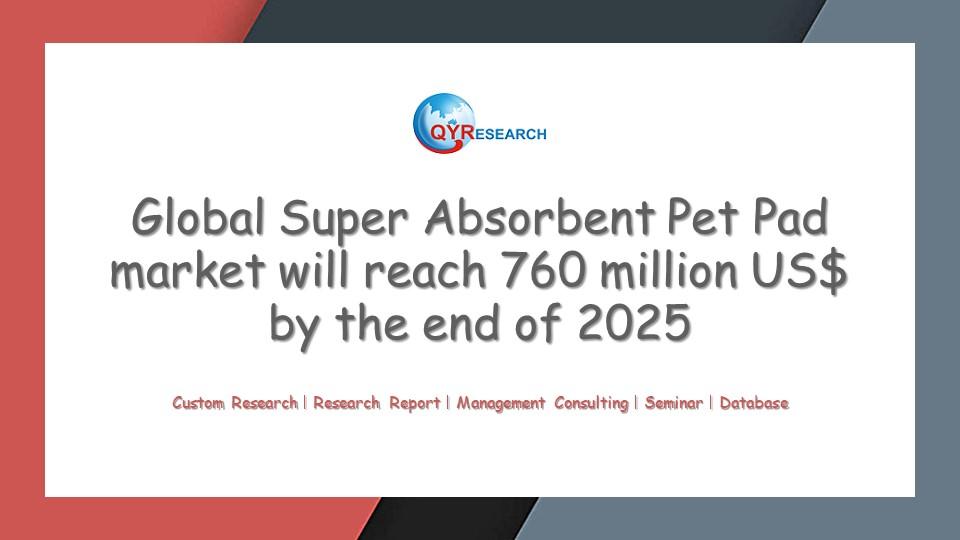 Global Super Absorbent Pet Pad market research