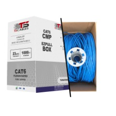 1000ft cat6 bulk ethernet network cable with solid conductors