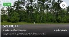 Beach Houses or Homes for Sale in Biloxi, MS