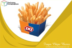 Finger Chips Boxes with perfect printing and packaging