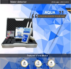 AQUA smallest device to detect water