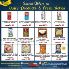 Special Offers On Dairy Products & Fresh Roties Online Richardson,Texas - MyHomeGrocers