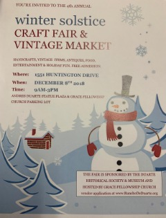Winter Solstice Craft Fair & Vintage Market