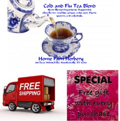 Cold and Flu Tea Blend, BUY 3 & GET 1 FREE, Order now, FREE  Shipping + a free gift