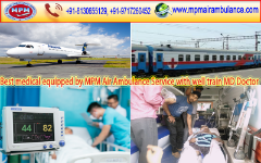 Need Advanced MPM Air Ambulance Services in Patna with ICU Facility