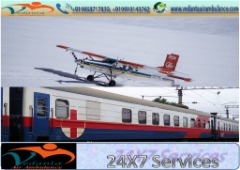 Vedanta Supportive Team of Air Ambulance from Kolkata is Best