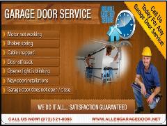 24/7 Emergency Garage Door Repair & New Installation Service | Allen, Dallas | 75071 TX
