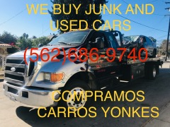 WE BUY JUNK CARS CASH FOR OLD AND USED CARS