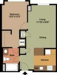 Huge 1 Bedroom apartment