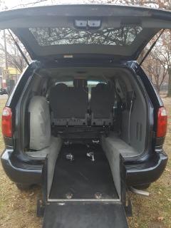 2007 Dodge Grand Caravan Rear Entry  Wheelchair Handicap Mobility Minivan 28K Miles $12,995